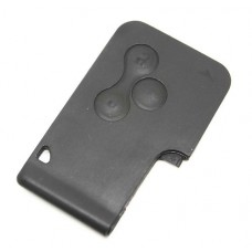 Replacement Renault Clio Megane Scenic Grand Scenic 3 Button Key Card Case