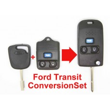 FORD Transit Connect CONVERSION SET Folding Key and FOB in One