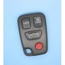 VOLVO S40 V40 S70 C70 V70 Remote Key FOB Case Shell 3+1 Panic Button