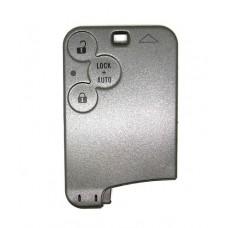 Replacement Renault Laguna Espace 3 Button Key Card Case
