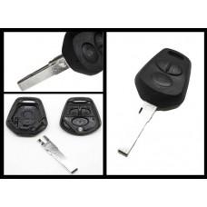 Porsche 911 Carrera Boxster Cayenne 3 Button remote key case/shell + blank blade