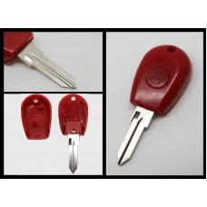 Alfa Romeo 145 146 155 GTV GTV Spider Transponder Key Blank Blade Red