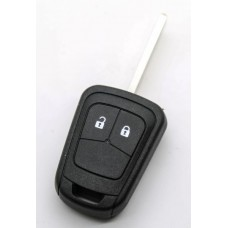 Replacement Chevrolet 2 BUTTON REMOTE KEY FOB case shell with blank blade