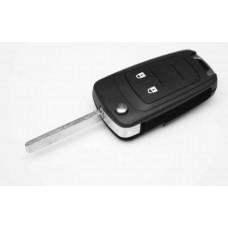 Chevrolet Cruze Aveo 2 Button FOB Remote Key CASE Uncut Blade
