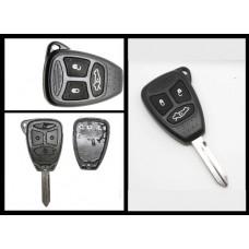 Chrysler Jeep Dodge Key Fob Case 3 Button