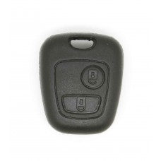 Peugeot 107 206 207 307 406 2 Button Key Fob, Head Only