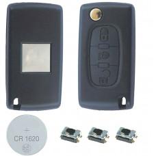 Fits CITROEN C4 Remote Key 3 Button FOB CASE Repair Kit CE0523 VA2 CE0523