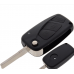 3 Button Flip Remote Key Fob Case For Citroen Relay Van