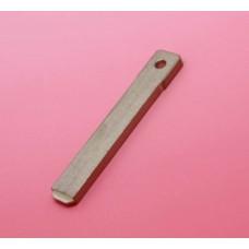 Blank Car Key Blade VA2 for Peugeot Citroen
