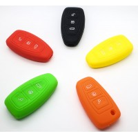 Ford Galaxy Focus Mondeo C-Max B-Max Kuga Silicone 3 button Smart Key Fob Case