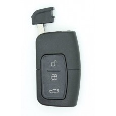 Ford Focus Mondeo Galaxy S-Max Keyless Entry 3 BUTTON REMOTE KEY FOB CASE