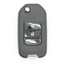 Honda CIVIC HRV CRV JAZZ Accord ETC Remote Key FOB 3 Button Remote Key Case