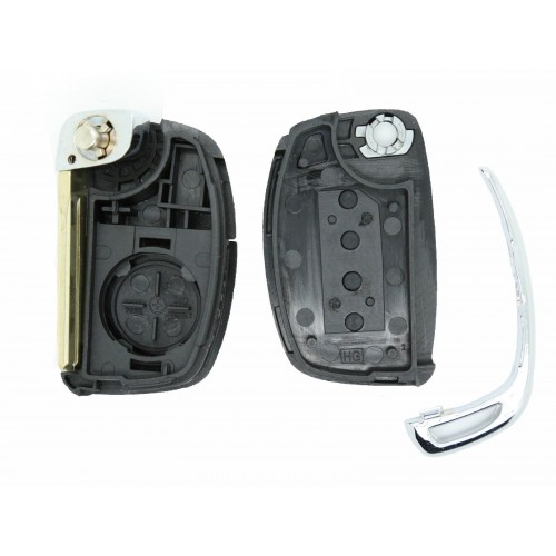 Hyundai i10 Tucson I30 iX25 iX35 elantra 3 Button Remote Smart Key Case