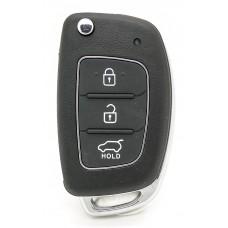 Fits Hyundai Tucson Sonata ix35 ix25 Santa Fe Elantra remote key fob 433MHz