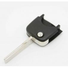 VW SKODA SEAT Blank Remote Key uncut blade, round flip