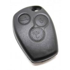 Renault Clio Megane Laguna Kangoo 3 button Remote Key FOB Case Shell