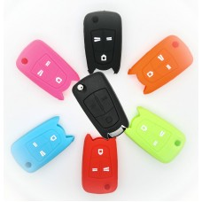 OPEL VAUXHALL Corsa Vectra Astra Zafira Silicone 3 button Key Fob Case Holder