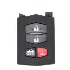 Mazda 3 5 6 RX8 CX7 CX9 mx5 4 (3+1) Button FOB Remote Key FOB CASE/SHELL