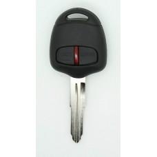 New Mitsubishi 2 button Remote Key FOB 433MHz 4D ID60 Chip