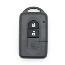 Nissan MICRA QASHQAI JUKE DUKE NAVARA 2 Button Remote key FOB Case/Shell