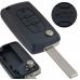 Fits Peugeot 207cc 3 Button KEY REMOTE CASE Repair Fix Kit HU83 key CE0523