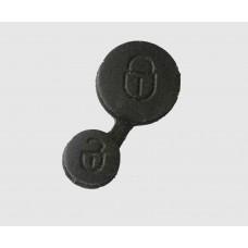 Citroen Saxo Xsara Picasso Remote Key FOB Pad 2 Button Rubber