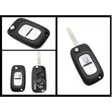 Renault Clio Kangoo Megane Modus 2 Button Remote Key Fob Shell/Case VA-2 blade