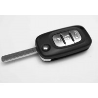 Renault Clio Kangoo, Modus, Megane 3 Button FOB Remote Key Shell Case