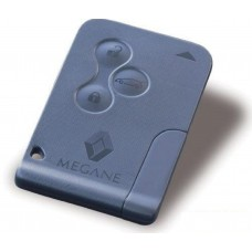 Renault Megane 3 Button Remote Key Card 433Mhz Complete Unprogrammed