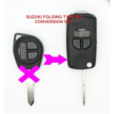 Suzuki Swift Igins Grand Vitara 2 Button CONVERSION Flip Remote Key Fob