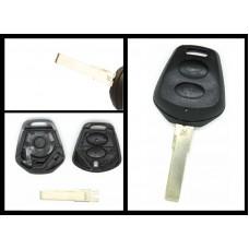 Porsche 911 Carrera Boxster Cayenne 2 Button remote key case/shell + blank blade