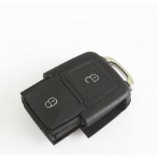 VW Volkswagen Passat Polo Golf Jetta Bora SEAT Ibiza Leon SKODA Octavia Fabia  2 Buttons Remote Key FOB Case