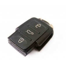 VW Volkswagen Passat Polo Golf Touran Bora SEAT Ibiza Leon SKODA Octavia Fabia  3 Buttons Remote Key FOB Case