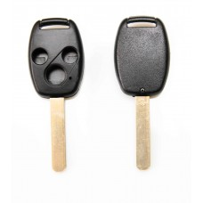 Honda Accord Civic 3 Button Key Fob Case