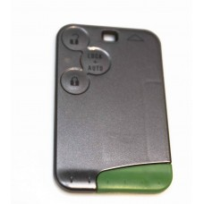 Replacement Renault Laguna Espace 3 Button Key Card Shell Case