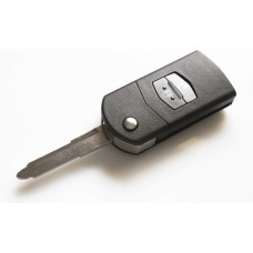 Mazda 2 3 6 RX8 MX5 2 Button Fob Remote Key Case