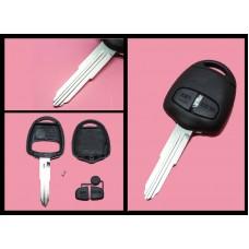 Mitsubishi L200 Shogun Lancer OUTLANDER 2 Button FOB Remote Key CASE Blade MIT8