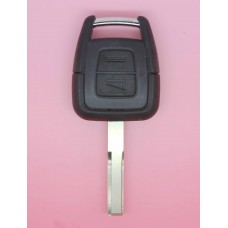 Vauxhall OPEL Vectra Astra Zafira 2 button Remote Key Fob Shell + Blank Blade