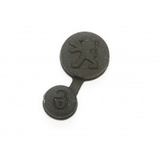 Peugeot Rubber Key Button Pad 106 206 306 405 406 Fob Button Replacement