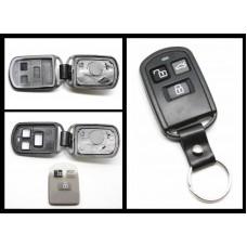 Hyundai Accent Sonata GS300 GS350 3 Button REMOTE FOB SHELL CASE +Rubber Pad